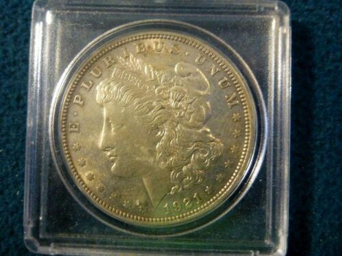 1921 MORGAN SILVER DOLLAR BU+