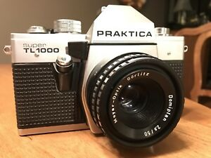 Functional Rare 1980's PRAKTICA SUPER TL 1000 SLR German Camera