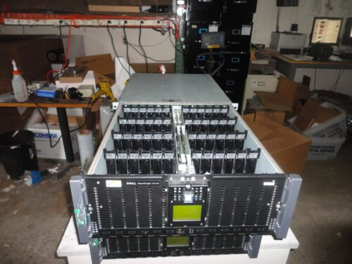 Dell EqualLogic PS6500 48 Bay SAN iSCSI Storage System SATA SAS No HDD