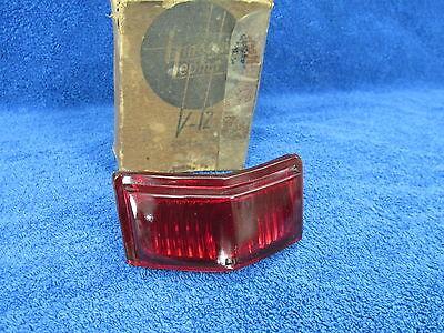 1946-48 LINCOLN  TRUNK TAIL LIGHT LENS   NOS   217