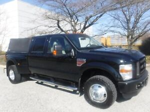 2008 Ford F-350 SD XLTCrew Cab Dually  4WD 6.5 Foot Box Diesel