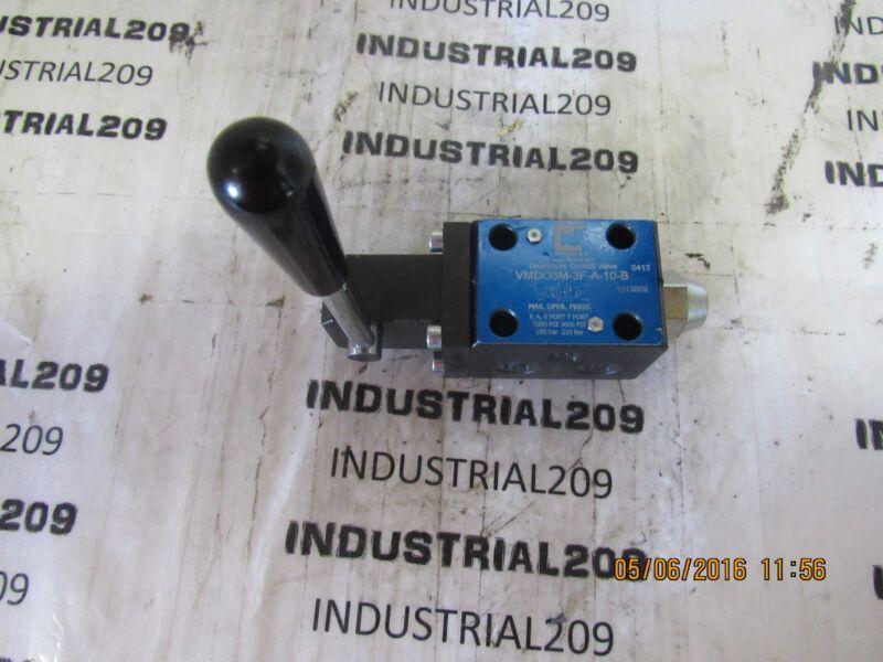 CONTINENTAL HYDRAULIC CONTROL VALVE VMD03M-3F-A-10-B NEW