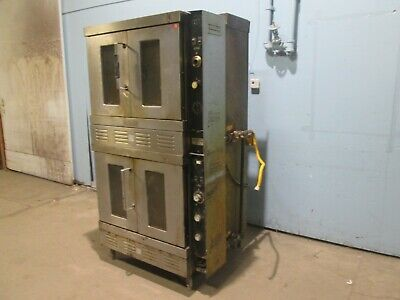 Hobart Gn90 S Hd Commercial Natural Gas Double Stacked Convection Bakery Oven