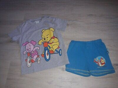 Kleinkind Junge Sommer Disney Winnie Pooh Set Shorts  und T-Shirt Gr. 98/104♂️