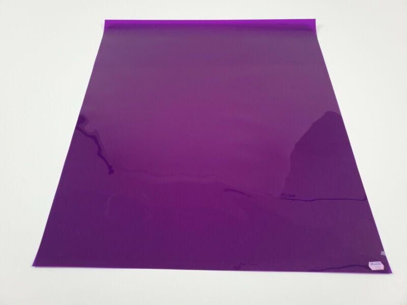 "*NEW* Lee Filters #126 Mauve Purple Lighting Gel Sheet 21""x24"""