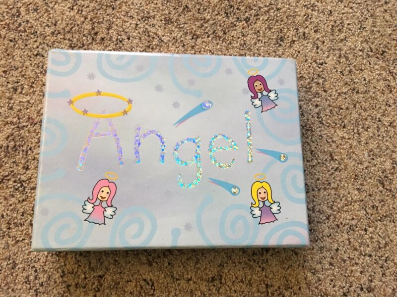 ANGEL Stationary SET in BLUE Matching Box