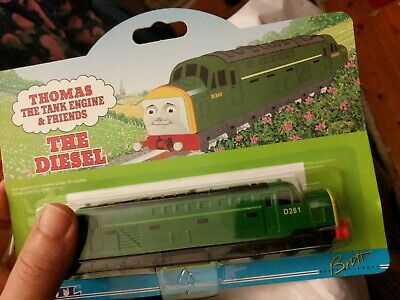 ERTL Thomas Tank Engine & Friends #4100 The Diesel - NEW, 1997 Die-cast on card