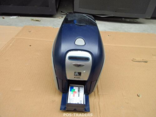 Zebra P120i LAN USB Double Sided Colour ID Card Printer P120I-000UC-ID0 TESTED