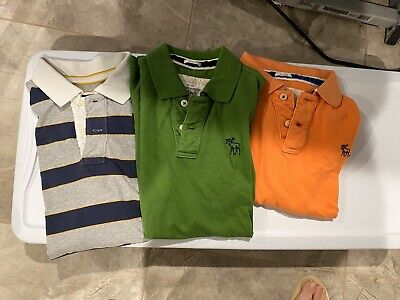 Abercrombie And Fitch And América Eagle  Men's Polo L/XL