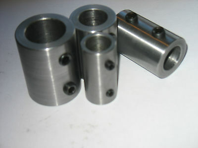Shaft Coupling Steel - 20 Mm Id X  3 Long