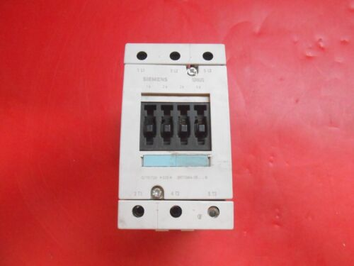 SIEMENS 3RT1044-1BB40 CONTACTORS - RECON/TESTED
