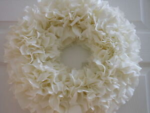 DOOR  RAG WREATH (16