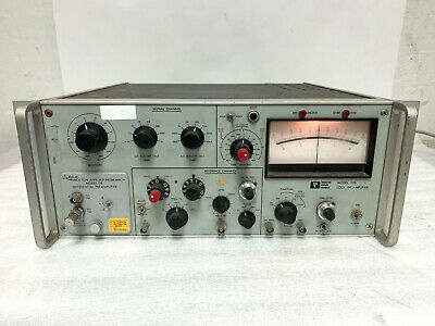 Princeton Applied Research Par 126 Lock-in Amplifier Par 118 Differential Preamp