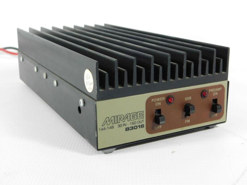 Mirage B3016 2-Meter FM Ham Radio Amplifier (preamp doesn