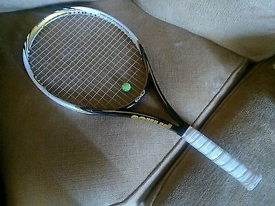 Prince EXO3 Hybrid Gold 107 Sq In  No. 4 Grip Tennis Racquet