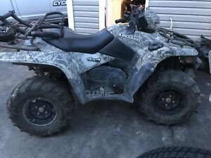 PARTING OUT ONLY 2008 suzuki king quad 750