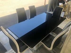 Dining / Boardroom 6 Seater Glass Table