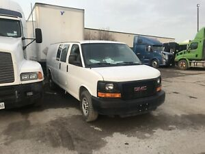 GMC van for commercial use