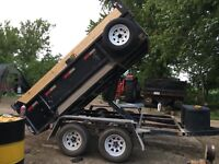 Dump Trailer Services **** NO TIPPING FEES!!! ***