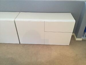 IKEA BESTA Cupboards Naremburn Willoughby Area Preview