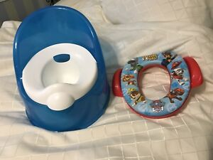 Potty and toddler toilet seat