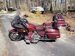 1983 Goldwing GL1100 ready to ride