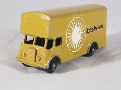 Matchbox Lesney #46 Pickford Removal Van - Rare Beales Bealesons Promo