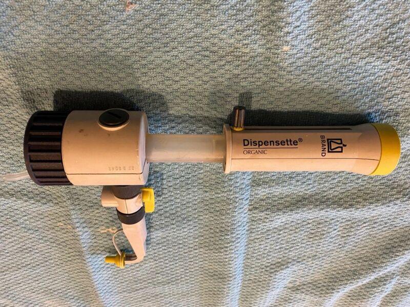 Brandtech Dispensette 1-10ml Volume Dispenser