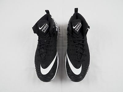 5fe9b42220eb NEW Nike Force Savage Zoom - Black Cleats (Men's 15W)