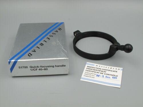 Genuine Hasselblad Quick Focusing Handle 51700 for CF Lenses 40-80 NOS