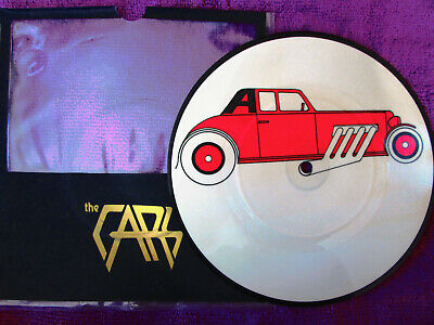 THE CARS  ..  MY  BEST FRIEND'S GIRL  .. RARE LIMITED PICTURE DISC  ....