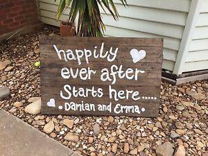 Wedding signs Neilborough Bendigo Surrounds Preview