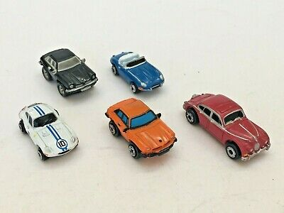 MICRO MACHINES JAGUAR AUTOS CARS VEHICLES ASSORTMENT GROUP LOT OF 5, used for sale  Shipping to Nigeria