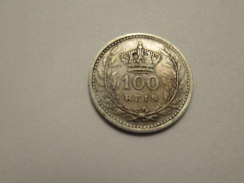 1910 Portugal silver 100 Reis