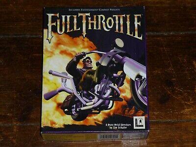 Full Throttle for Apple Macintosh, usado comprar usado  Enviando para Brazil