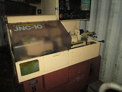 Star Model Jnc-10 13stroke 2hp Cnc Swiss Screw Machine Wyasnac Control