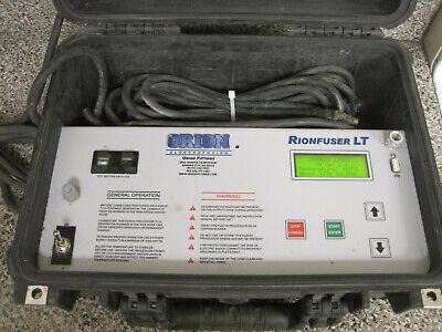Orion Electrofusion Rionfuser Lt Polypropylene Thermal Welder Cf 8540003 Used