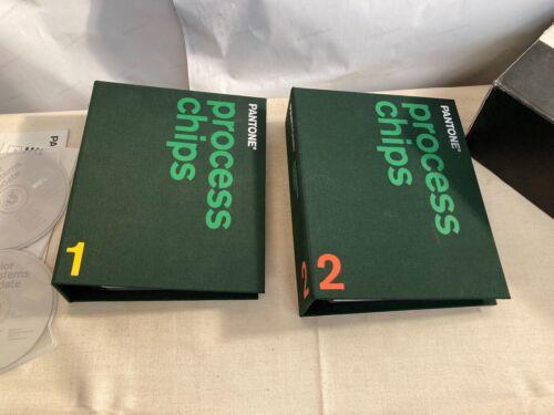 Pantone Process Color Chips Volumes 1 & 2 SWOP