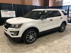 2017 Ford Explorer Sport 4X4 W/ Safety Group, Sunroof