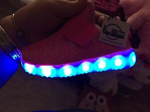 LED shoes girls size 7-8