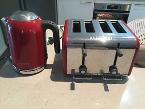 Kenwood toaster and kettle kitchen appliance set Middleton Grange Liverpool Area Preview