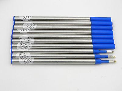 10pcs Jinhao Roller Ball Pen Refills Blue Ink New