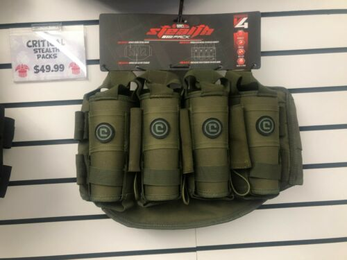 Critical V4 True Ejection Pod Pack Harness - Olive Drab