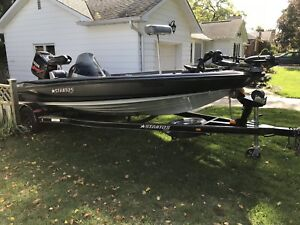 2006 Stratos Bass Boat- 150HP