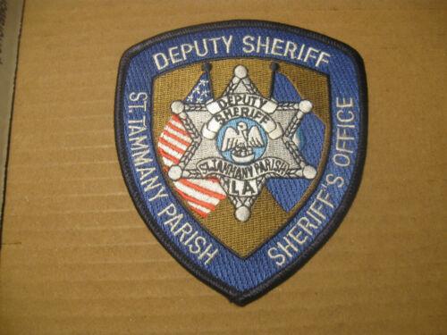 ST. TAMMANY PARISH LOUISIANA SHERIFF POLICE PATCH