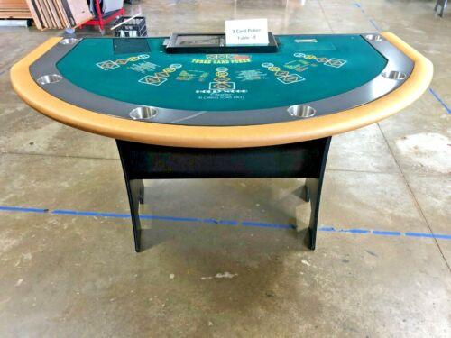 Professional Size 3 Card Poker Table (E) (USED)