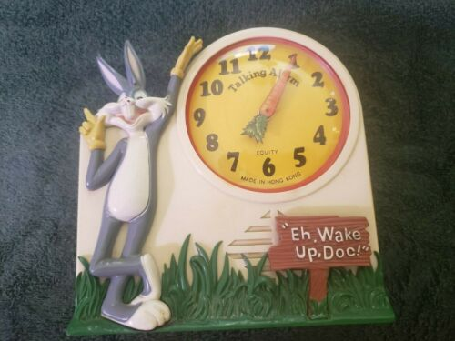 Janex Bugs Bunny Talking Clock. Working
