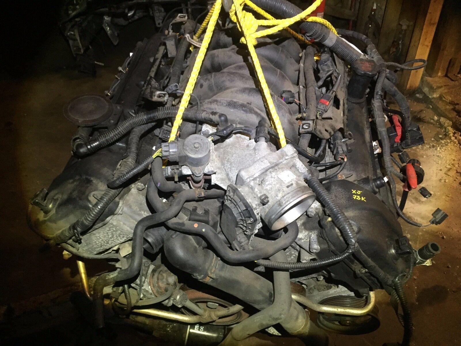 Used Jaguar Xj8 Engines For Sale 1998 Engine Diagram Oil Pump Vandenplas 42l V8 Fi Dohc F Motor With 73k Miles No Supercharged