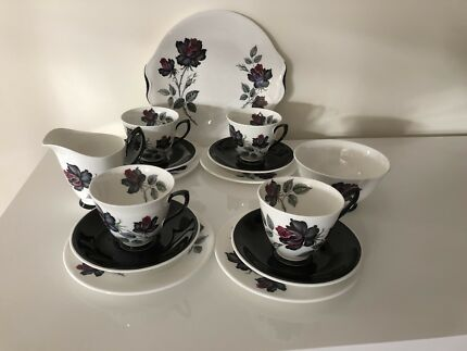 Royal Albert masquerade pattern tea set