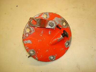 1959 Ford 971 Tractor Sos Hydraulic Dipstick Cover Plate 800 900
